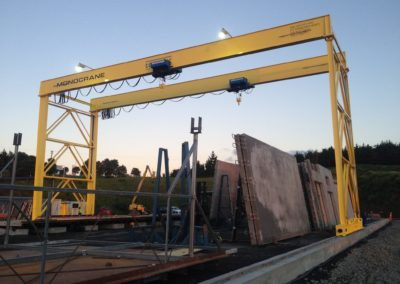 Double Girder Hoist Gantry Crane CONCRETEC