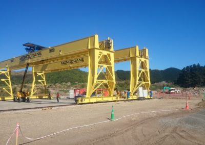 Goliath Double Girder Portal Crane